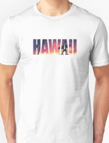 Vintage Filtered Hawaii Postcard Unisex T-Shirt