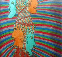 362 - LOOK BOTH WAYS - DAVE EDWARDS - COLOURED PENCILS - 2012 by BLYTHART