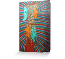 362 - LOOK BOTH WAYS - DAVE EDWARDS - COLOURED PENCILS - 2012 Greeting Card