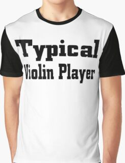 Violin Graphic T-Shirt