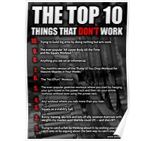 The Top 10 Things That Don't Work Poster