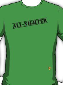 Rave Veteran - All Nighter - Black T-Shirt