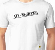 Rave Veteran - All Nighter - Black Unisex T-Shirt