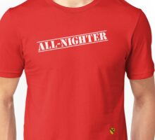 Rave Veteran - All Nighter - White Unisex T-Shirt
