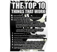 The Top 10 Things That Work Poster