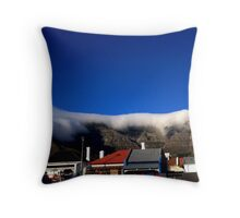 The Tablecloth in June Throw Pillow