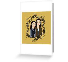 Disney Gilmore Girls Greeting Card