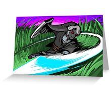 Dark Link | Sword Slash Greeting Card
