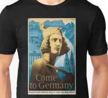 Vintage poster - Germany Unisex T-Shirt