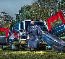 Death and his ride by Steven Shadbolt