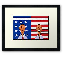 Tony Abbot Wants To Be President Framed Print