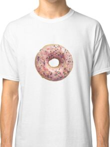 Isolated Pastel Pink Donut Classic T-Shirt