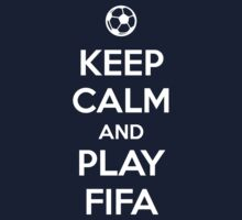 Keep Calm and play Fifa Kids Clothes