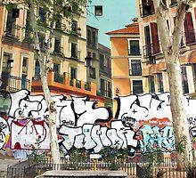 Memories of Spain 16 - Artisan Building in Madrid by Igor Shrayer