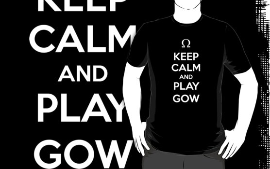Keep Calm and play God Of War by aizo