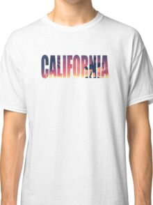 Vintage Filtered California Postcard Classic T-Shirt