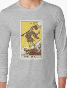 Tarot - The Fool Long Sleeve T-Shirt