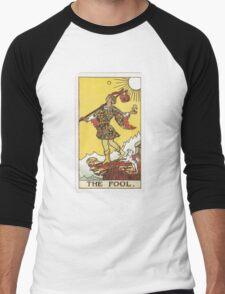 Tarot - The Fool Men's Baseball ¾ T-Shirt