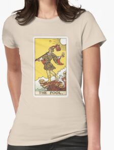 Tarot - The Fool Womens Fitted T-Shirt