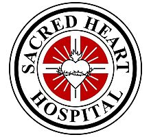 Sacred Heart Hospital Photographic Print