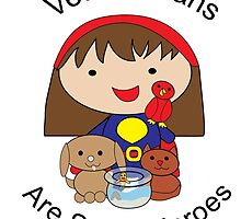 Veterinarians Are Super Heroes by ValeriesGallery