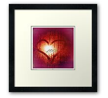 In any language, the emotion's the same Framed Print