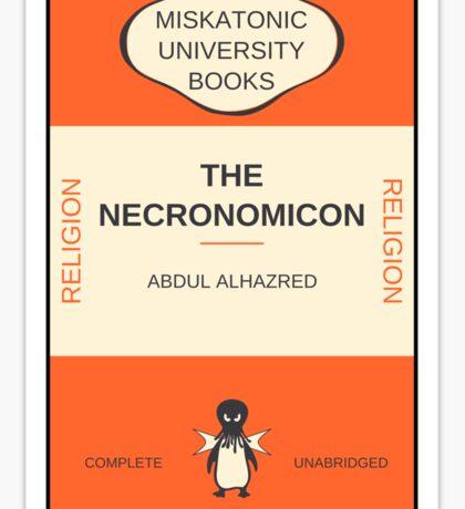 Necronomicon? Sticker