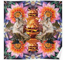 Burger Goddesses Poster