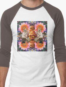 Burger Goddesses Men's Baseball ¾ T-Shirt