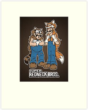 Super Redneck Bros. by powerpig