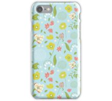 Blossom Time - Spring Blue  iPhone Case/Skin