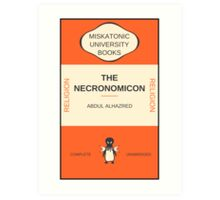 Necronomicon? Art Print