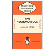 Necronomicon? Photographic Print