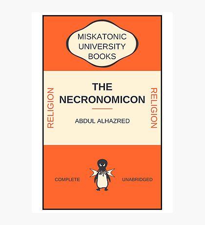 Necronomicon? Photographic Print