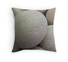Melon-choly Throw Pillow
