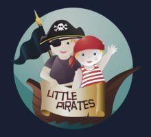 Little pirates Kids Tee