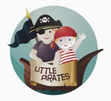 Little pirates Kids Tee