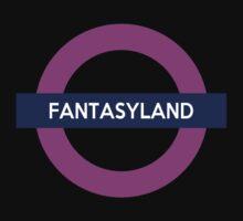 Fantasyland Line Baby Tee