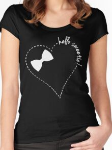 hello sweetie! Women's Fitted Scoop T-Shirt