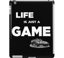 Life is just a game, ps4 camo pad popart iPad Case/Skin