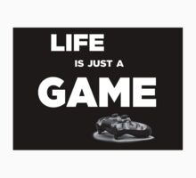 Life is just a game, ps4 camo pad popart Kids Clothes