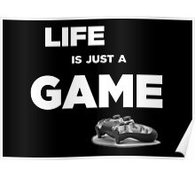 Life is just a game, ps4 camo pad popart Poster