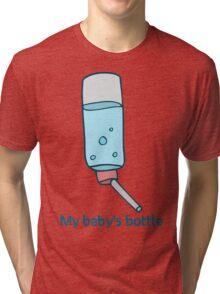 My Baby's Bottle Tri-blend T-Shirt