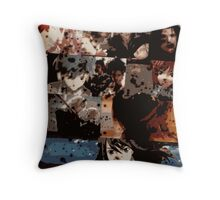 Video Game Character Mash-up Throw Pillow