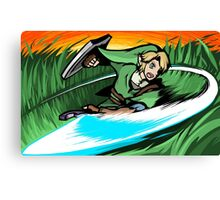 Link | Sword Slash Canvas Print