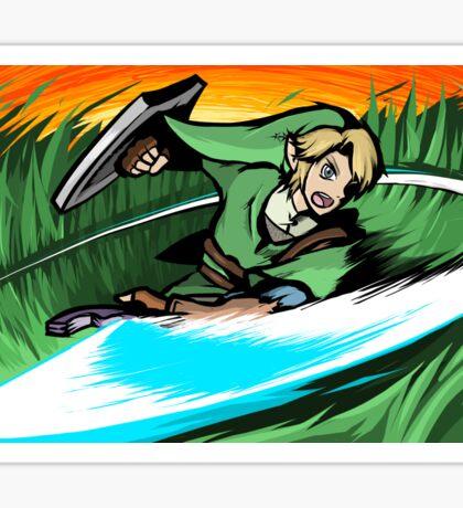 Link   Sword Slash Sticker