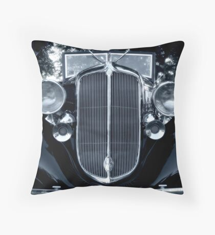 Chrysler Closeup Throw Pillow