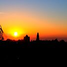 Sunrise in Jerusalem by photorolandi
