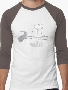 Nuke The Whales Men's Baseball ¾ T-Shirt
