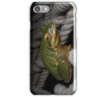 Frog Siesta - Just Hanging Out iPhone Case/Skin
